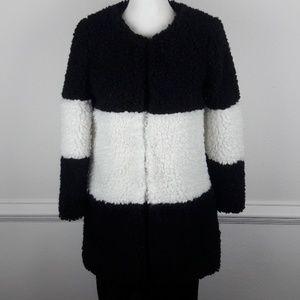 Jackets & Blazers - Teddy Color Block Coat